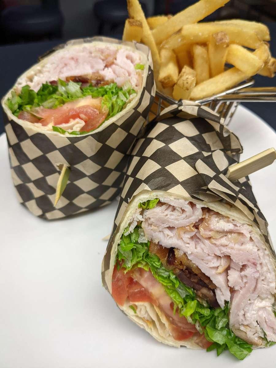 Turkey Bacon Jalapeno Wrap