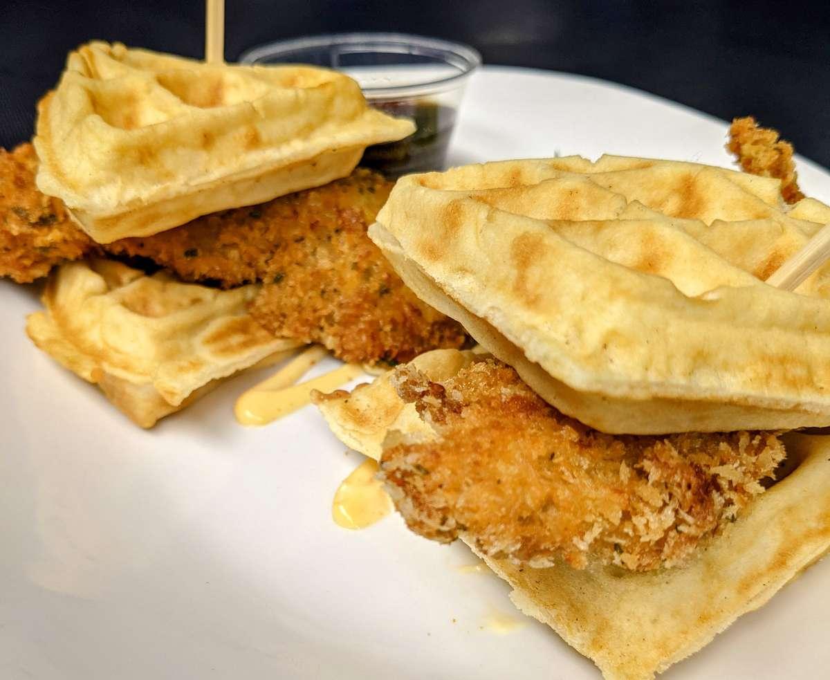 Chicken Waffle Sliders