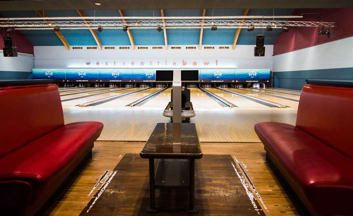 Seating and bowling alleys