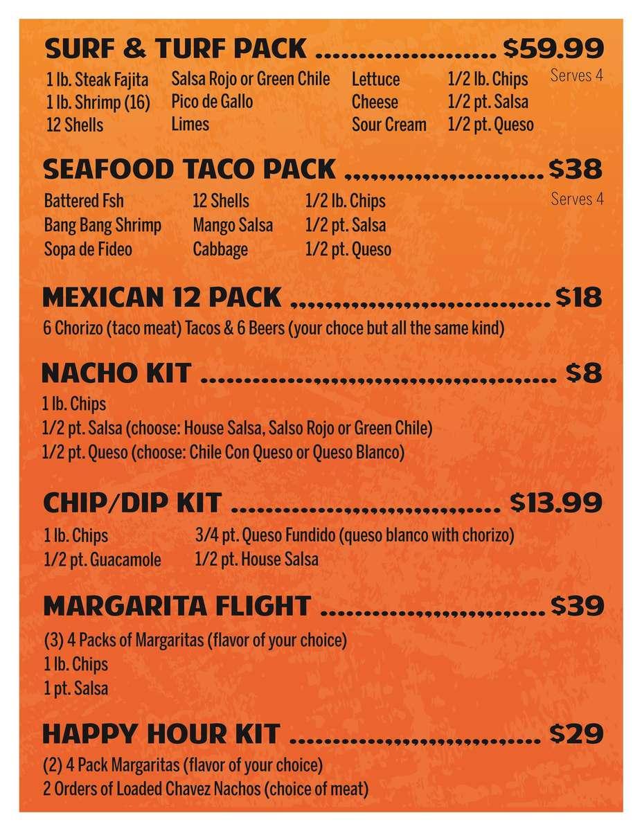 Taco Packs