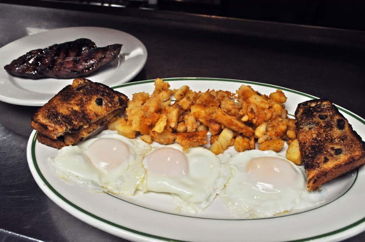 #5 Steak & Eggs