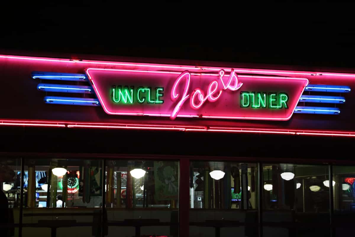 Uncle Joe's Diner Outside