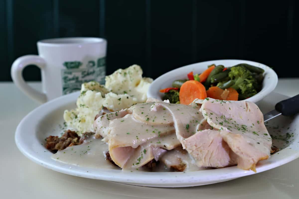 Roast Turkey Dinner