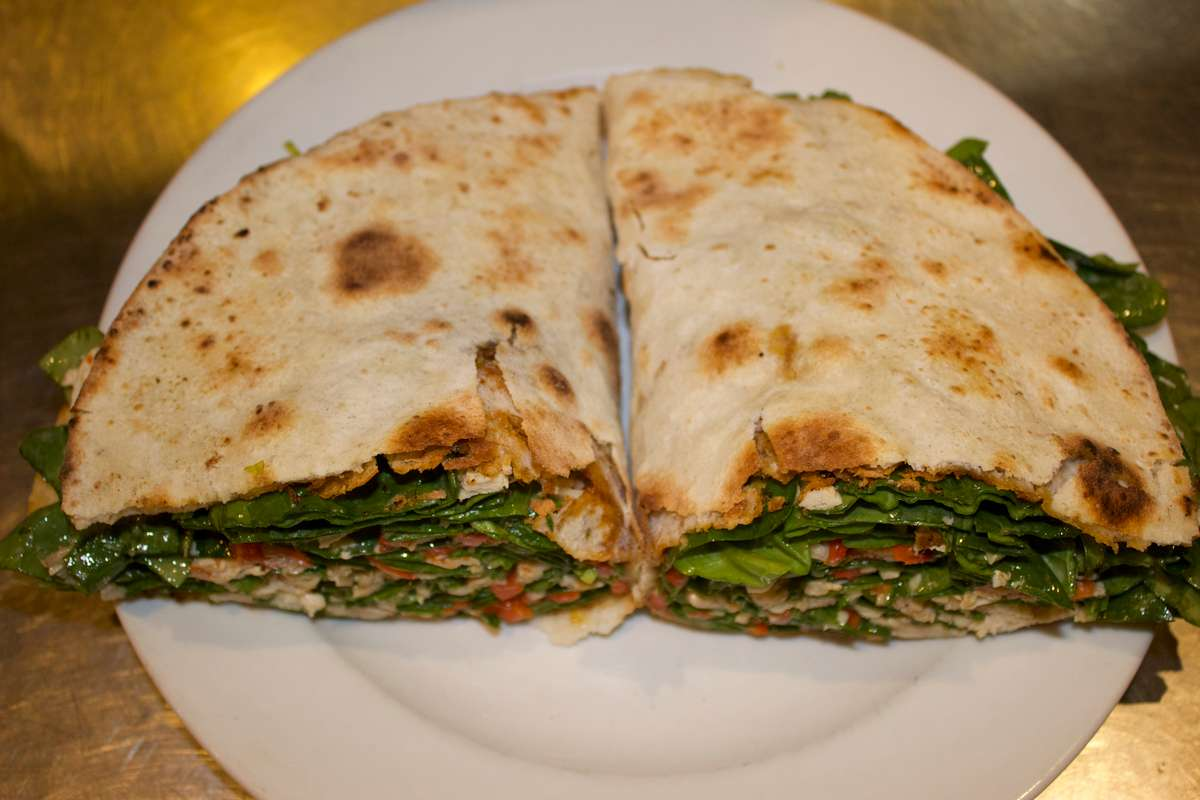 Chicken Piadina