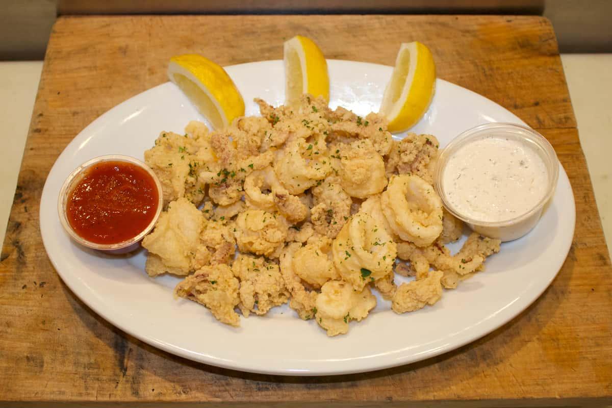 Deep-Fried Calamari