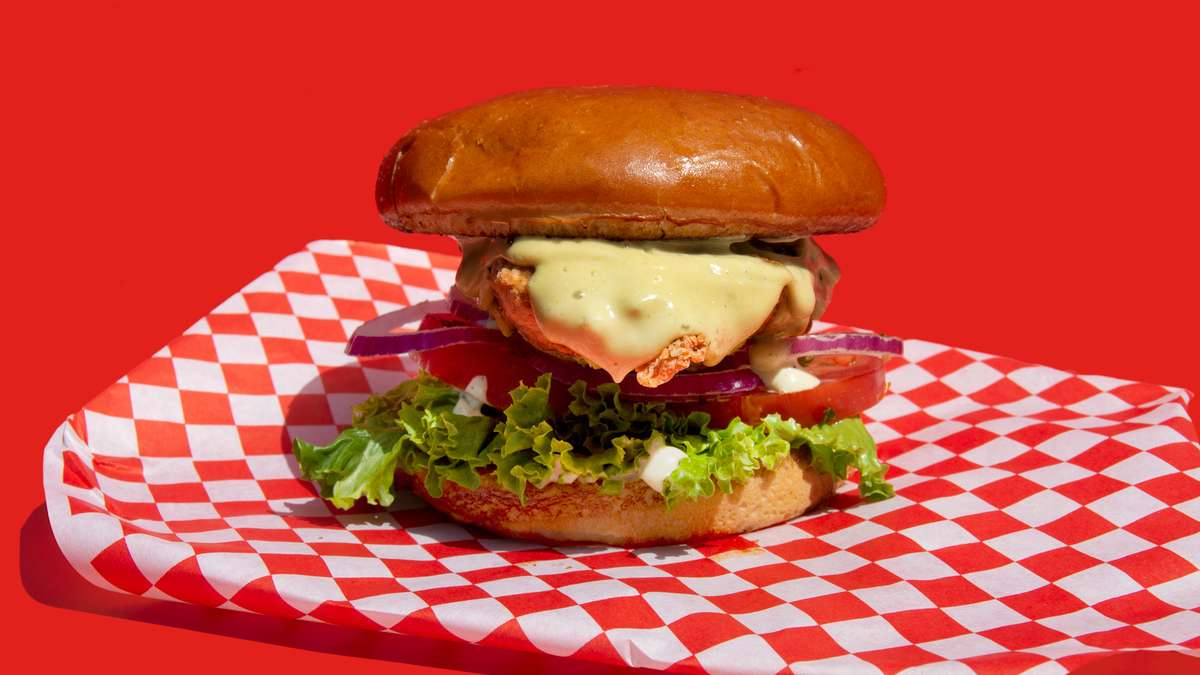 Dill Fried Chicken Sandwich