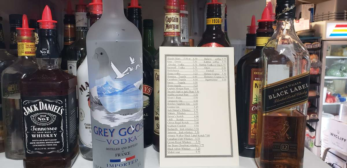 alcohol list