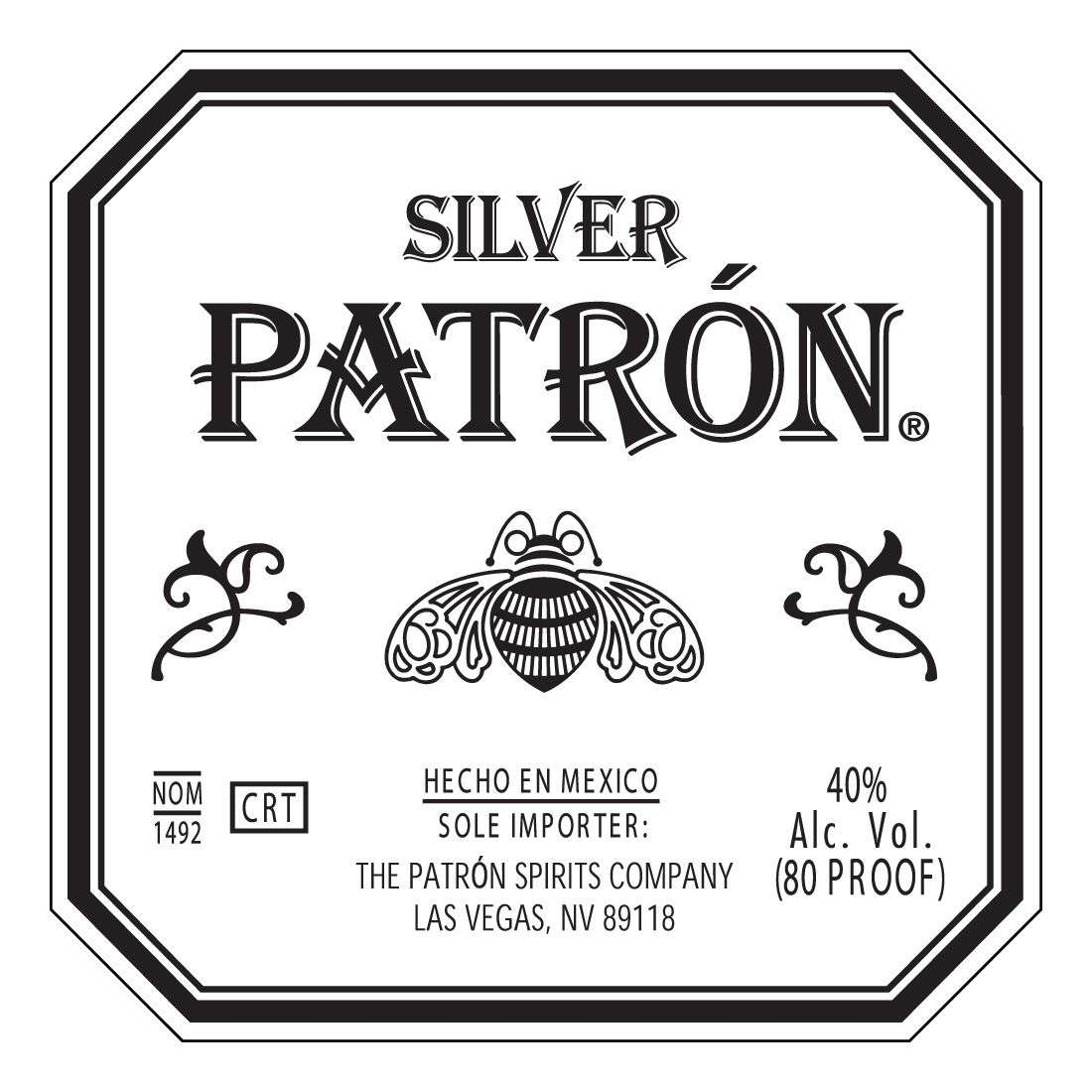 Tequila- Patron (Silver)