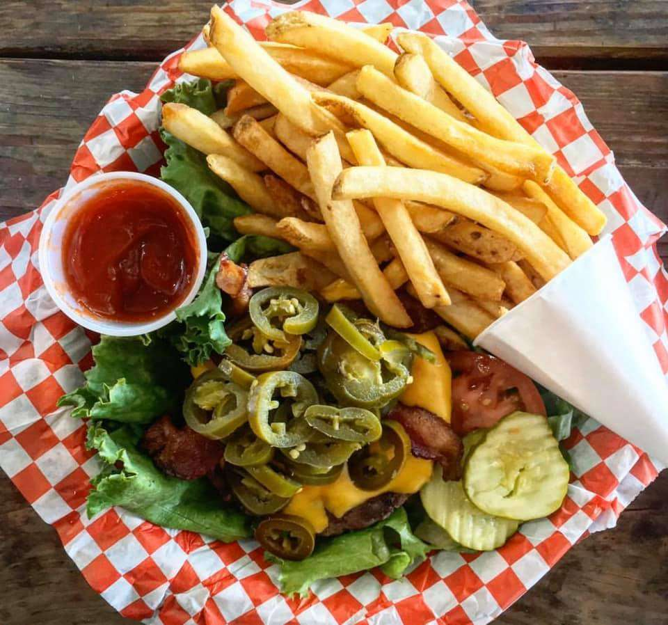 Gluten free lettuce wrap burger