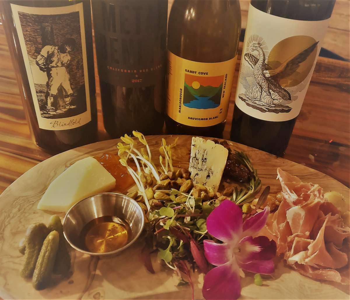 3 board w wine