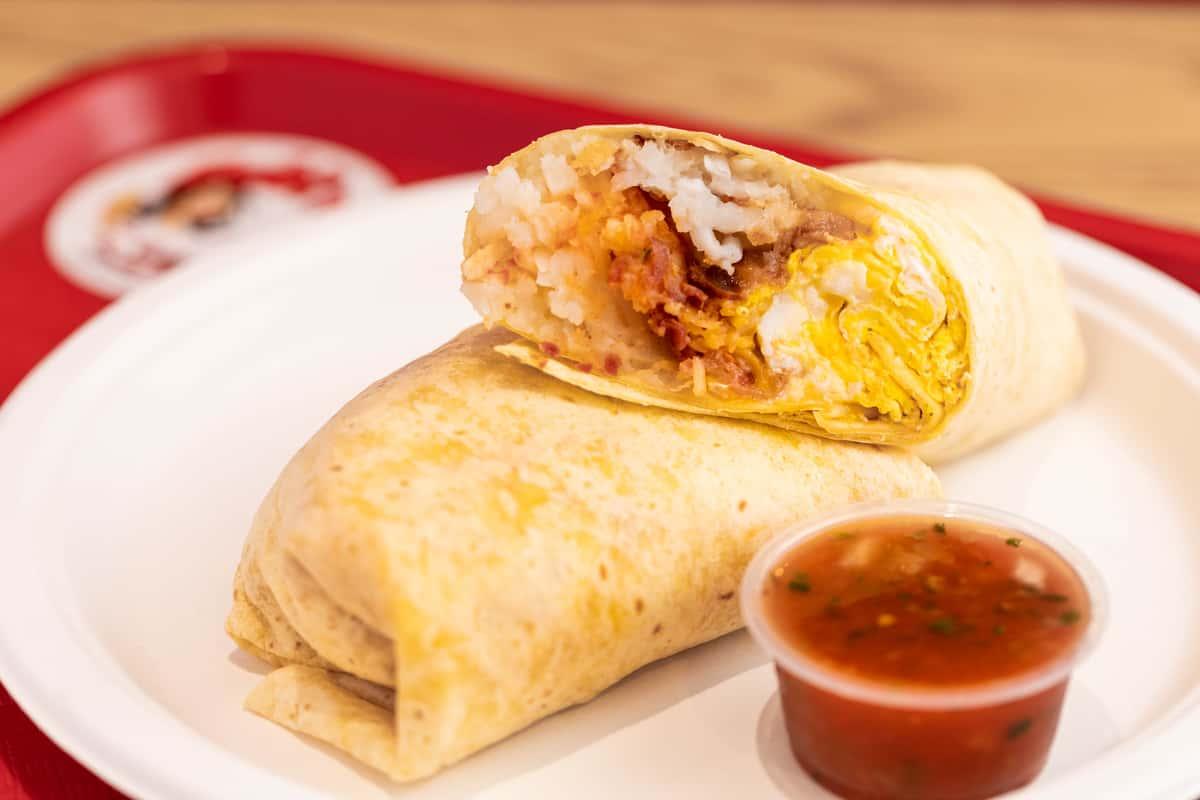 The Works! Breakfast Burrito