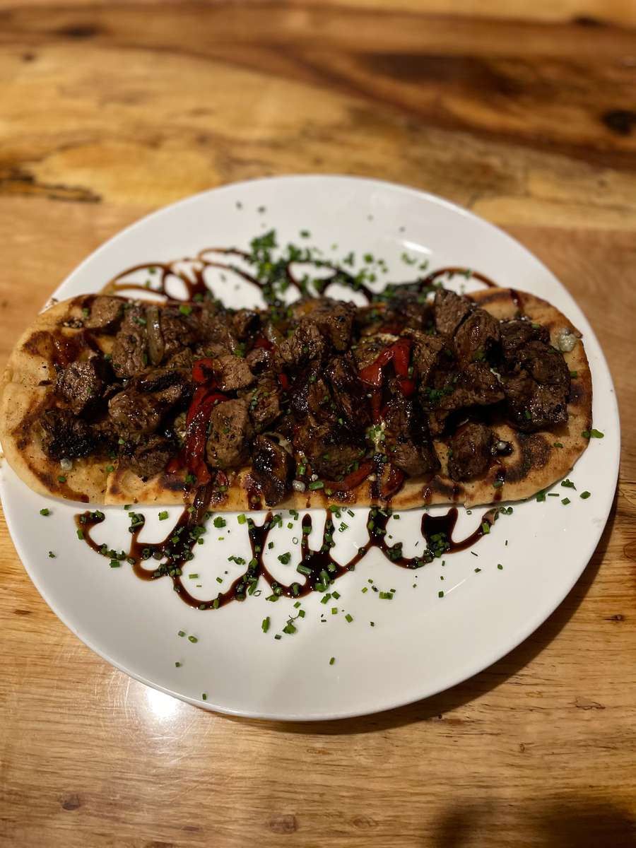 Steak N' Bleu Flatbread
