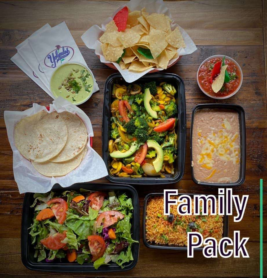 Family Pack Meals To Go