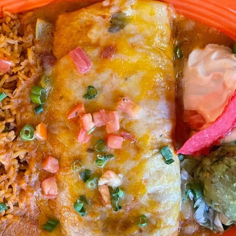 Beef Burrito Ranchero