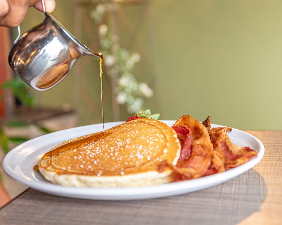 All Day Breakfast Special: Chocolate Chip Pancakes