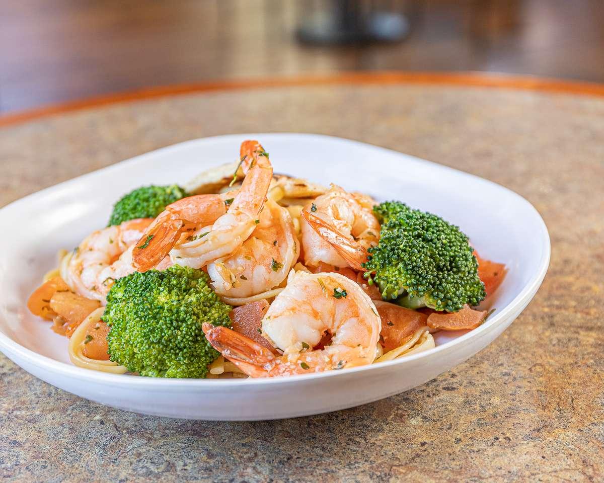 Garlic Shrimp Pasta
