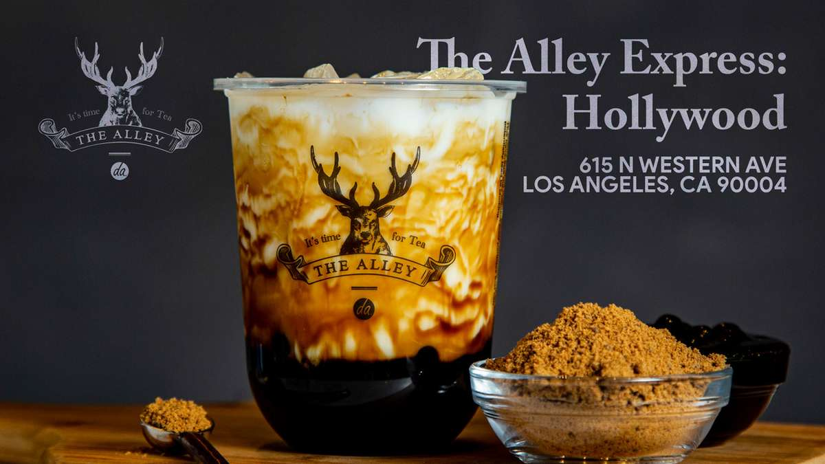 the alley express hollywood now open // 615 N western ave los angeles ca 90004