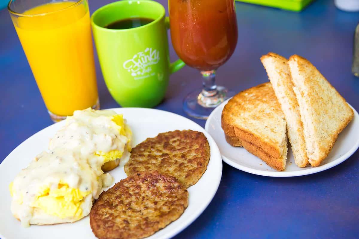 Breakfast at Mom's*