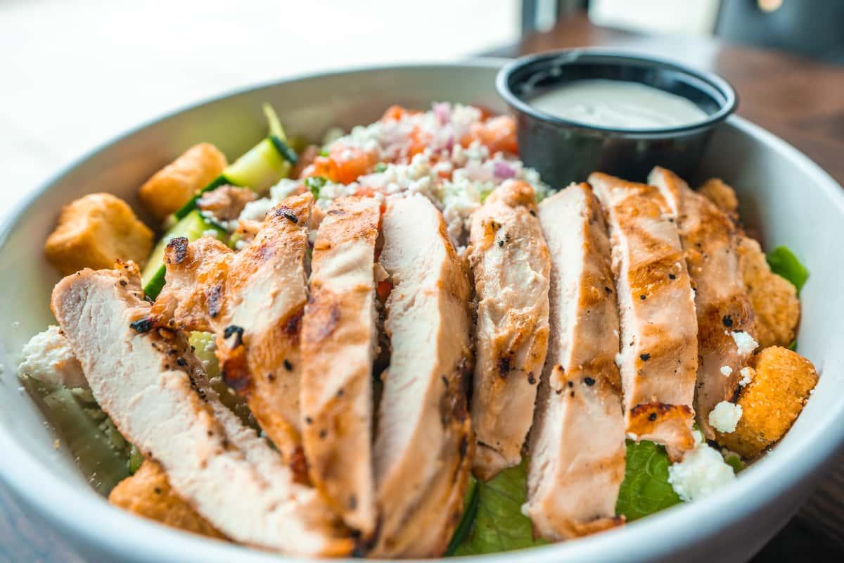chicken feta salad