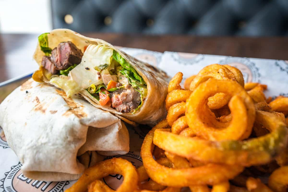 Carne Asada* Wrap