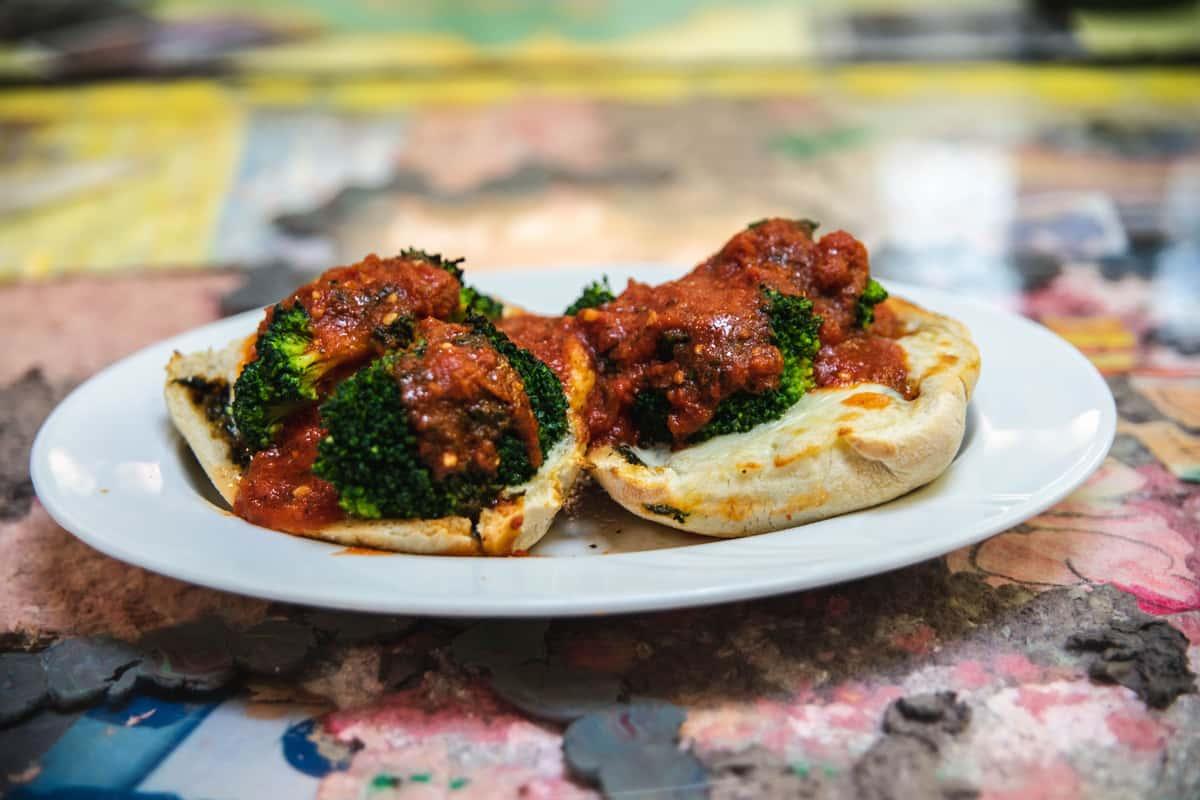 Spinach Pie Parmigiano
