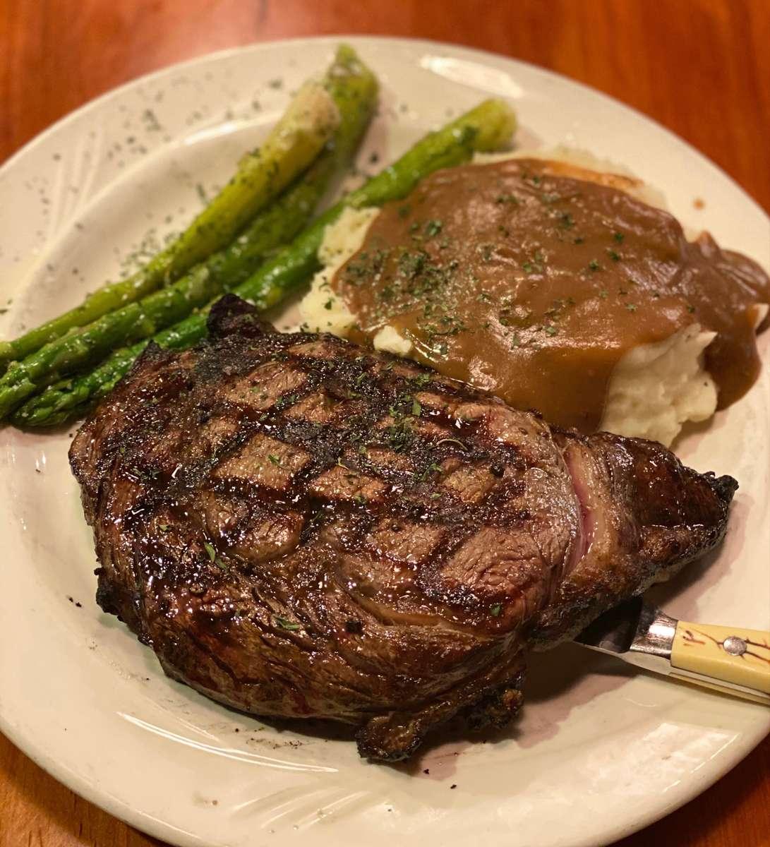 Large Rib Eye Steak