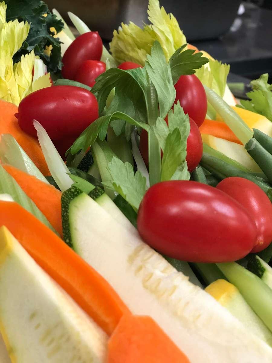 Crudité of Crisp Garden Vegetables