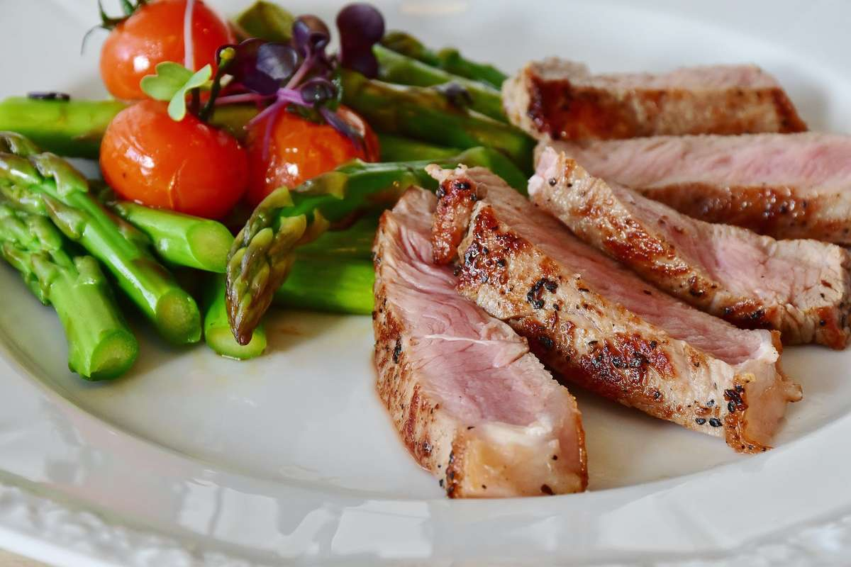 Meat with Veggies
