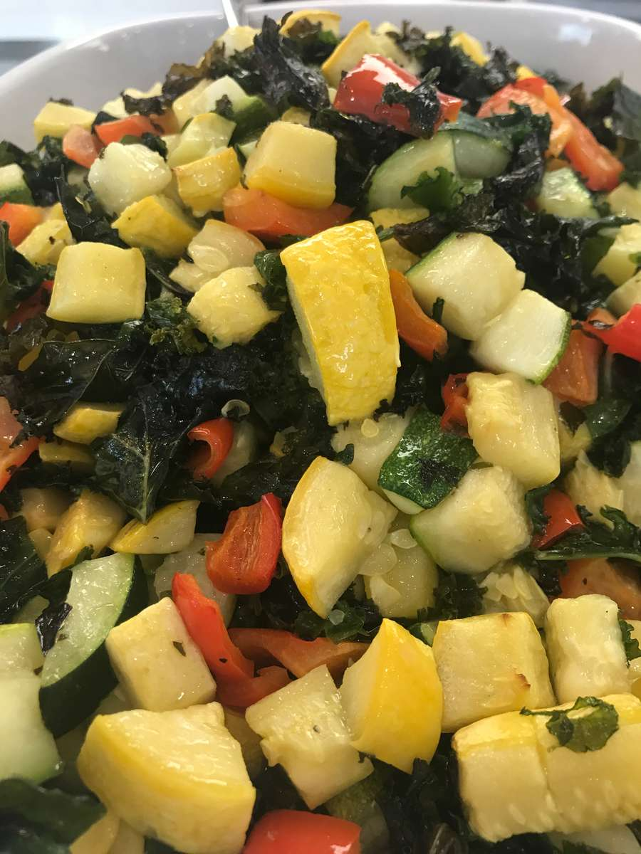 Roasted Vegetables and Kale Quart Size