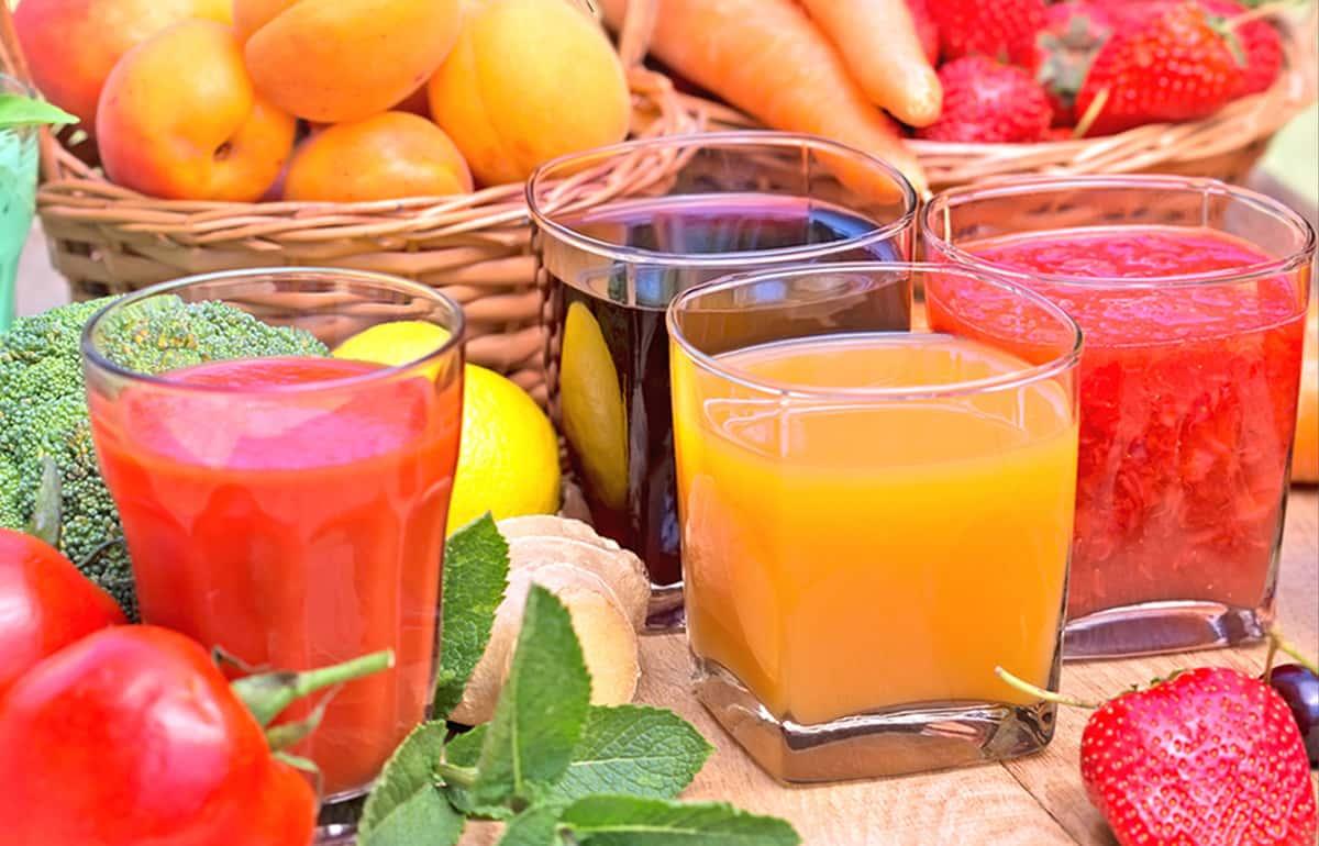 100% Natural Fruit Drinks