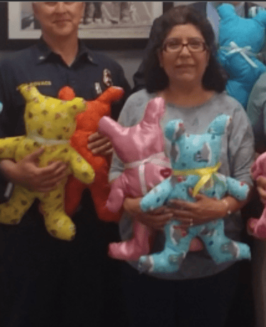 teddy bear gift to first responders project / donation