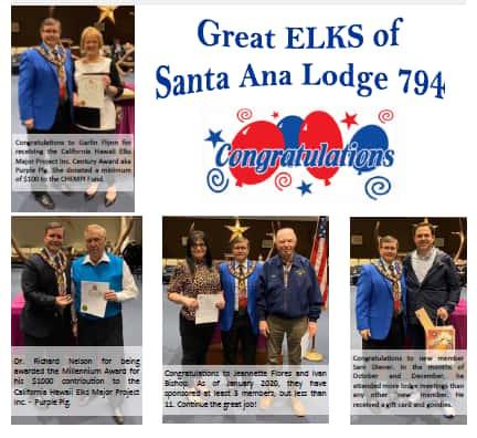 The Great Elks of Santa Ana Lodge