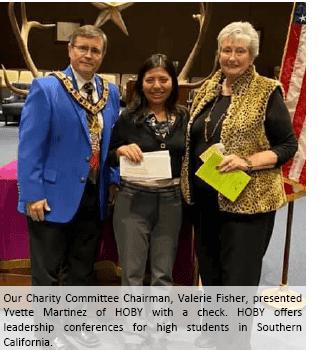 Charity Committee Chairman
