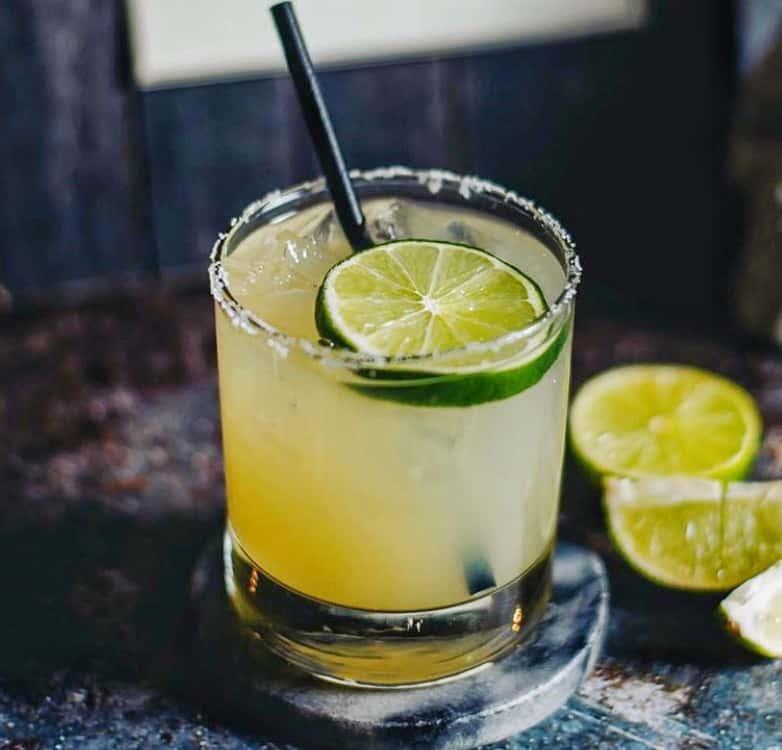 PERFECT MARGARITA Lunanaul tequila, fresh lime juice, triple sec,