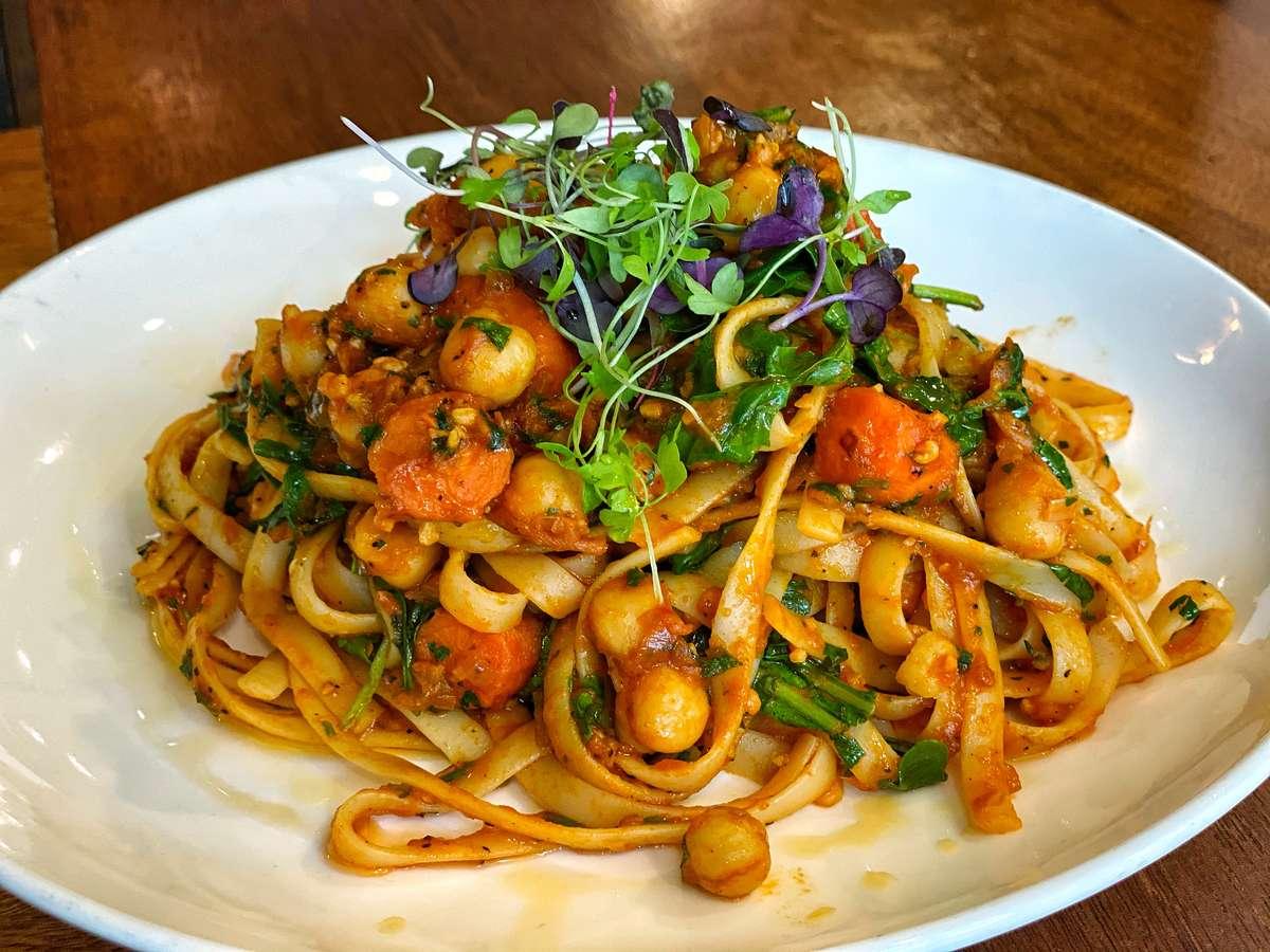 Spicy Moroccan Pasta
