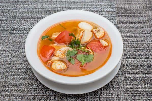 Tom Yum Soup (Chicken or Veggies and Tofu)