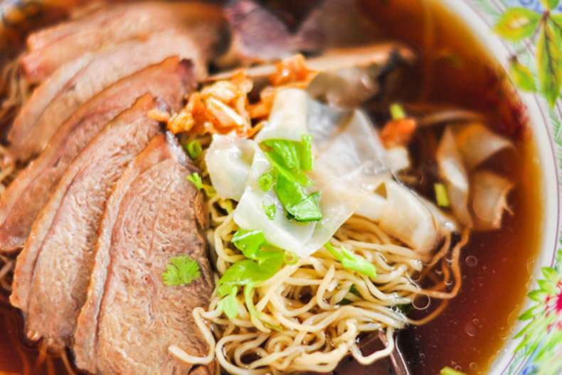 Duck Noodle Soup