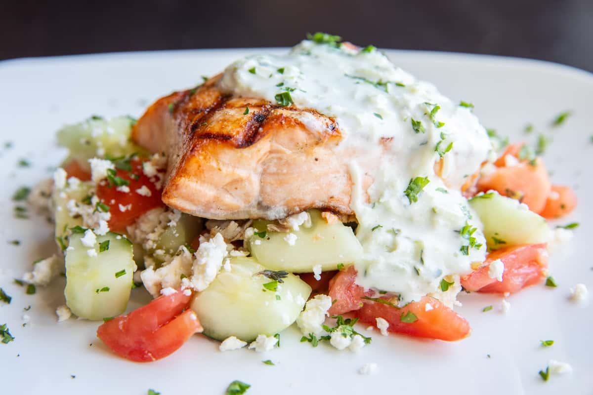 Greek Salmon*