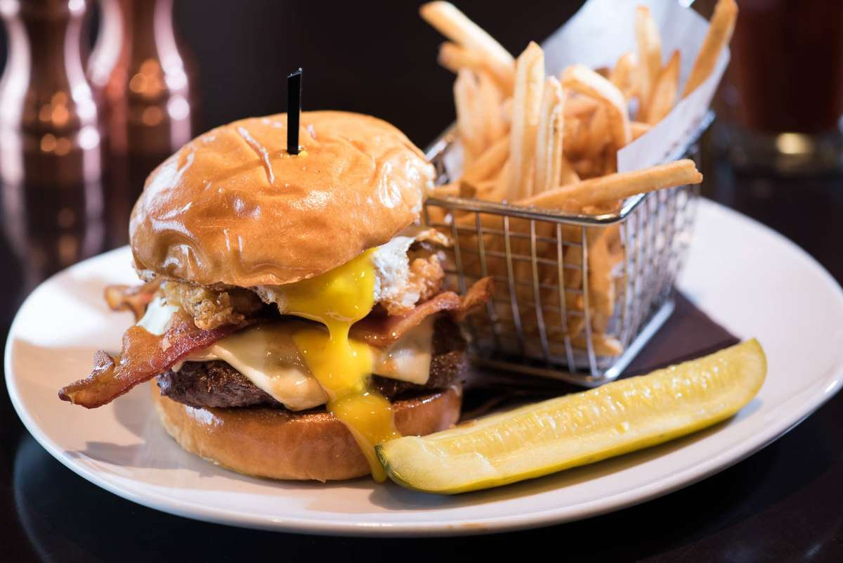 """The """"Cure"""" Burger*"""