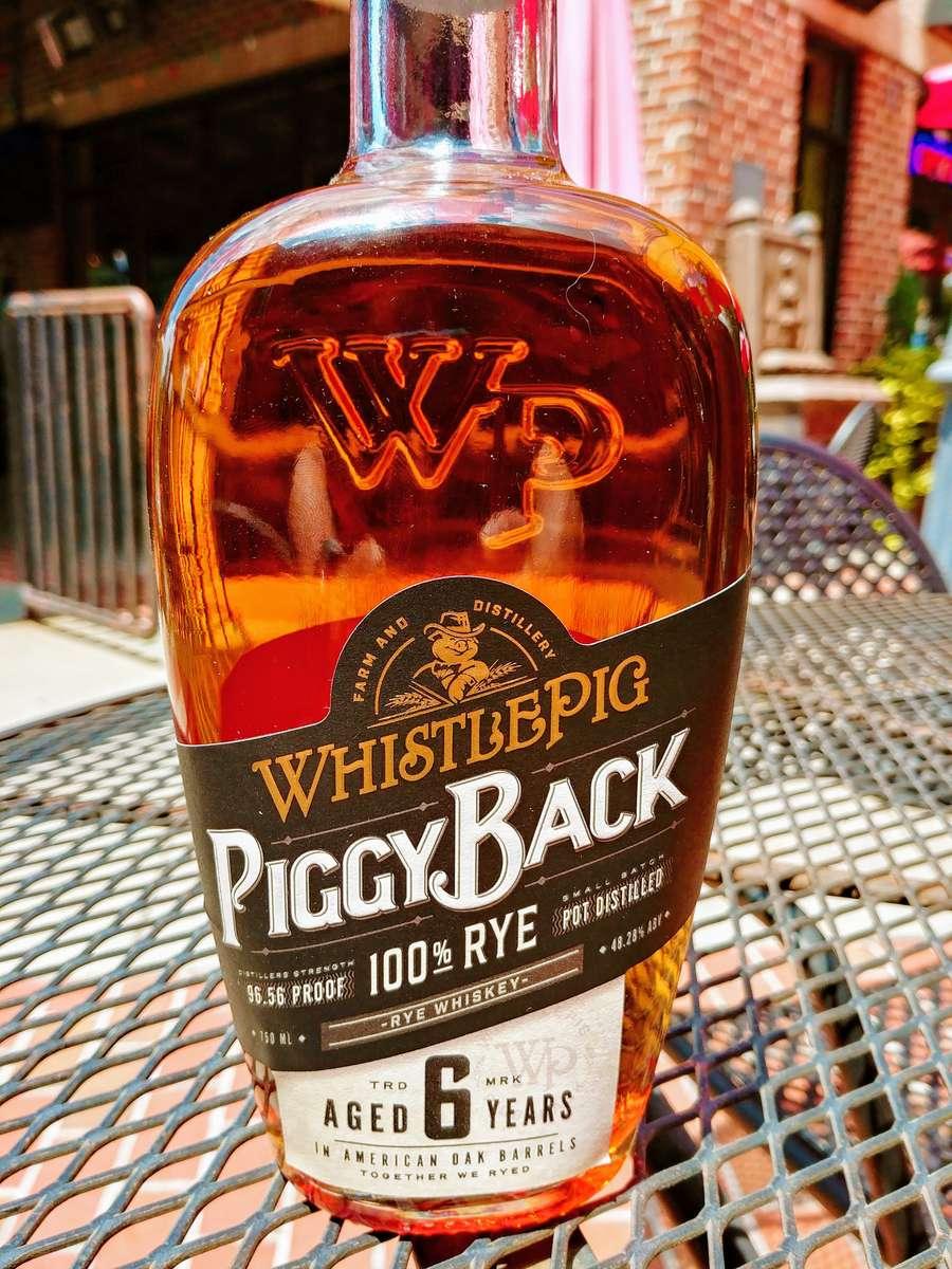 Whistle Pig Piggy Back