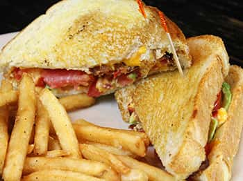 Southern Style Grilled Cheese