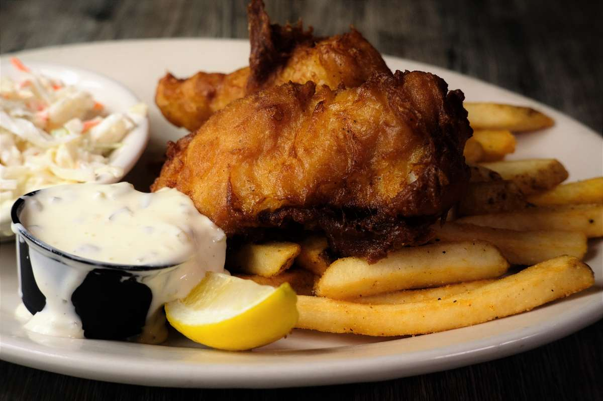 Fish and Chips (2 Piece)