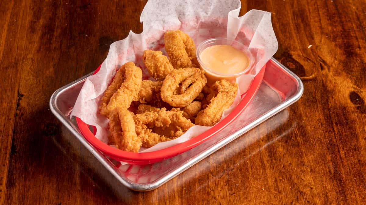 Fried Calamari (10 pcs)