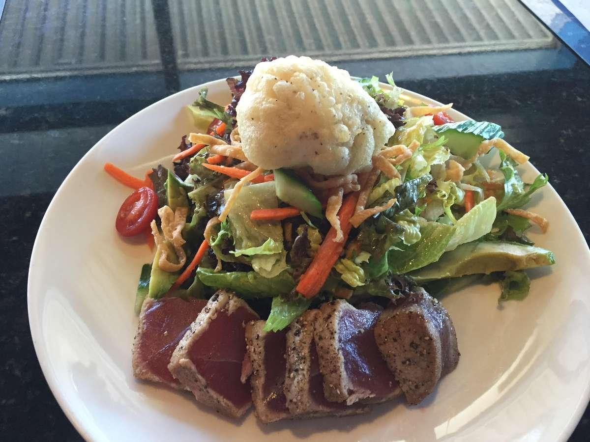 *Seared Tuna Salad