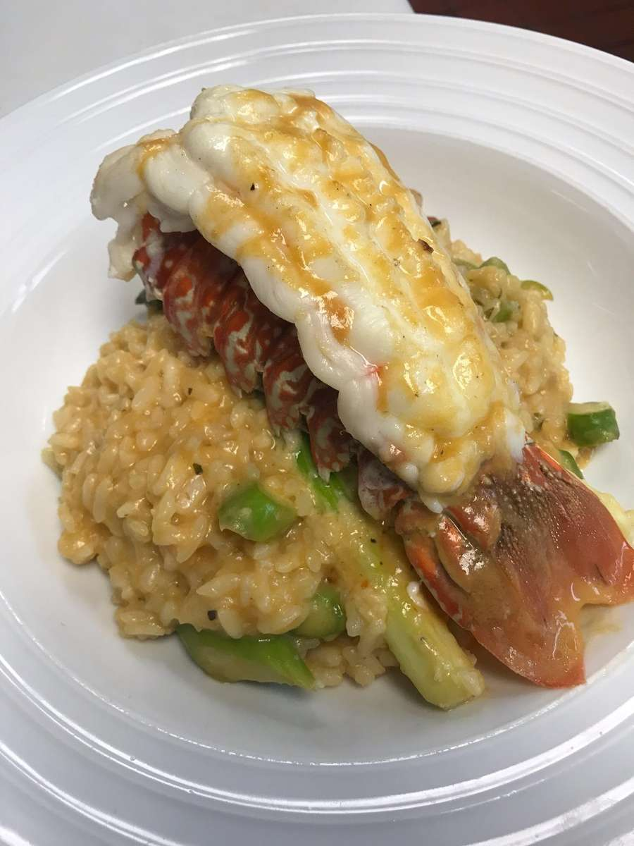 Lobster Tail Risotto