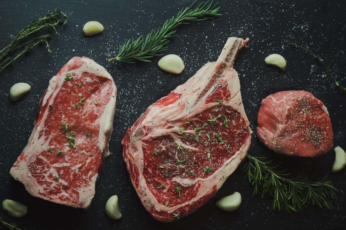 Raw Steak Cuts