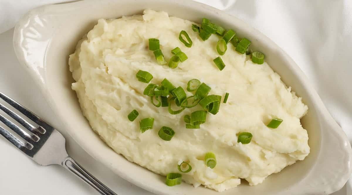 Garlic Whipped Potatoes