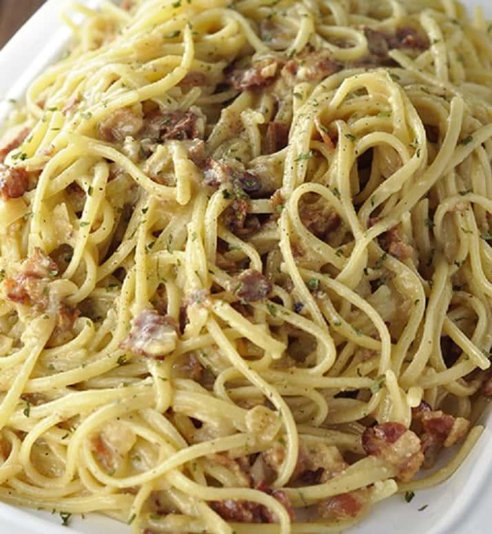 Spaghetti Carbonara Classica