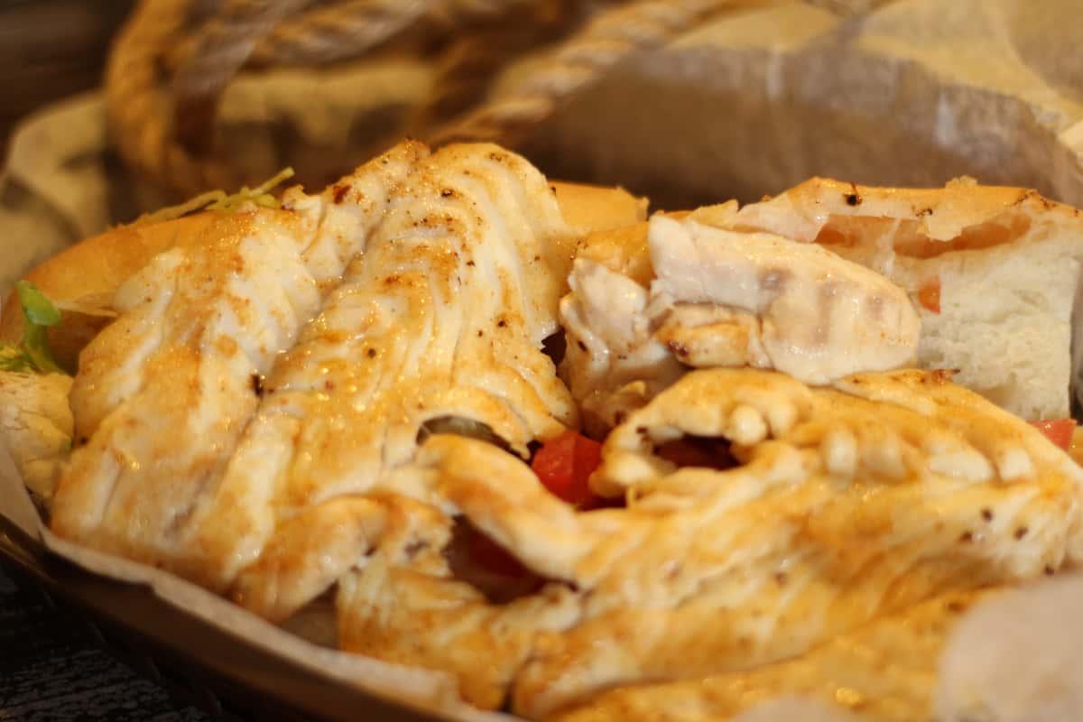 Red Snapper, Hog Fish, Grouper Filet