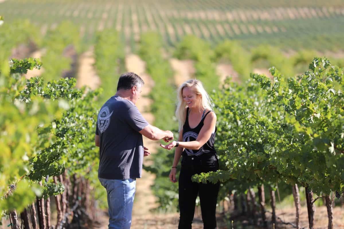 Rancho Capistrano Wine Bottles